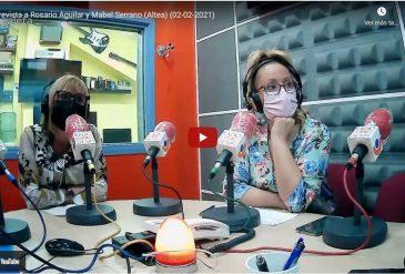Entrevista a Ràdio Despí a la nostre fundadora Rosario Aguilar i la nostre col·laboradora Mabel Serrano